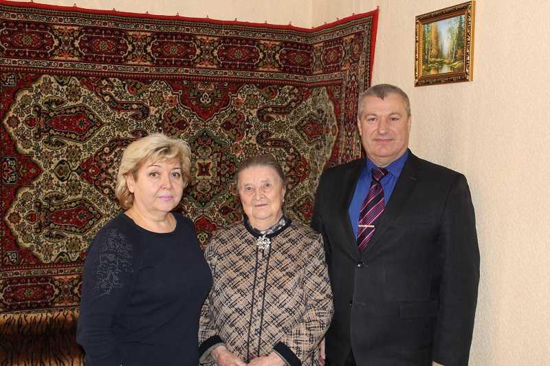 Вручение персонального поздравления Президента Российской Федерации и Губернатора Нижегородской области ветеранам Великой Отечественной войны в связи юбилейными датами